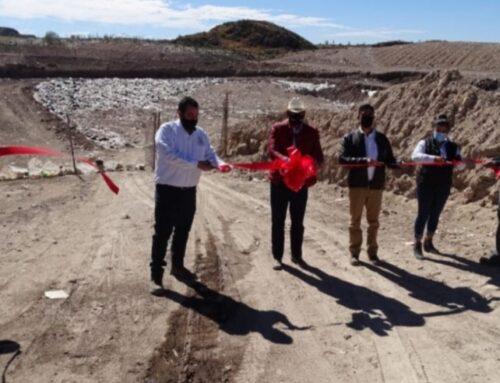 Inicia construcción de relleno sanitario y sistema de agua potable