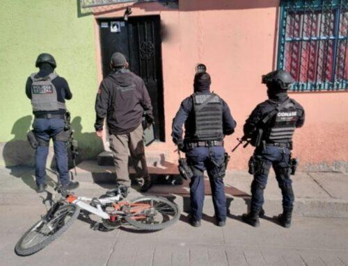 Aseguran marihuana y armamento en domicilio cateado de Jerez