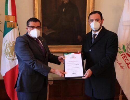 Nombra Tello a Erick Muñoz y Juan Antonio Ruiz como secretarios de Gobierno y Administración