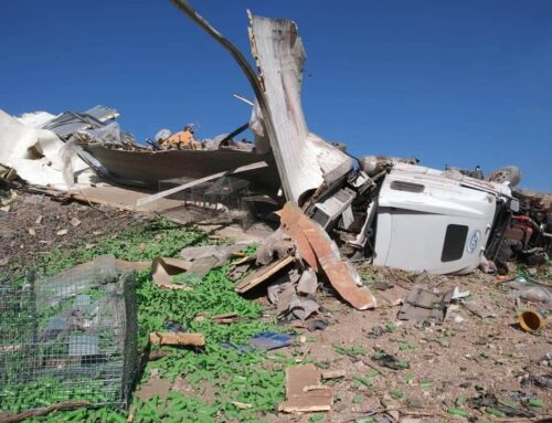 Accidente múltiple en la autopista a Aguascalientes deja tres lesionados y daños materiales