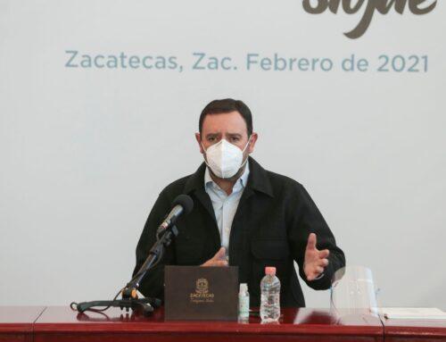 Podría cambiar Zacatecas a Semáforo Amarillo