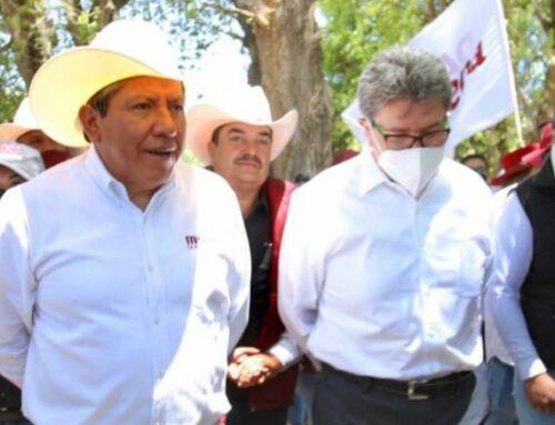 Acompaña Ricardo Monreal a su hermano David en actos de campaña