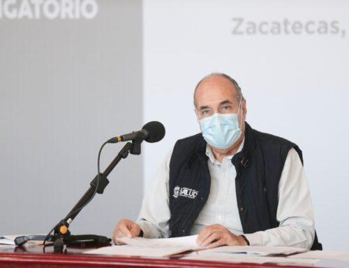 ZACATECAS POR ENTRAR A SEMÁFORO VERDE: GILBERTO BREÑA