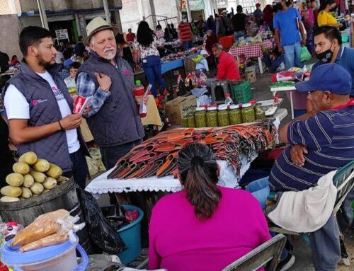 Llama Flavio Campos a pequeños comerciantes a organizarse