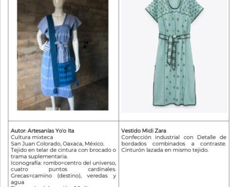 Reclama México a Zara por copiar diseños indígenas