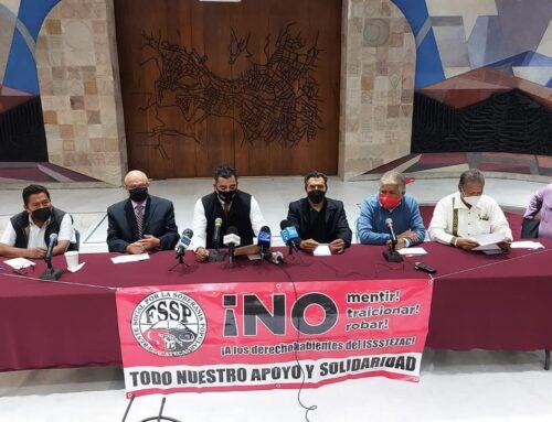 PROPONEN COMISIÓN ESPECIAL PARA ANALIZAR EL ISSSTEZAC